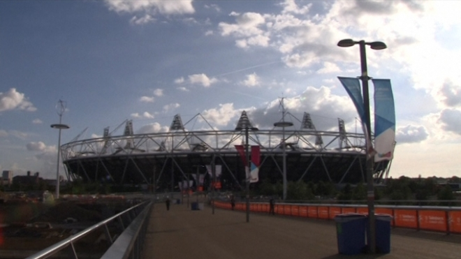 Athletes Return To Olympic Park One Year On For Meet