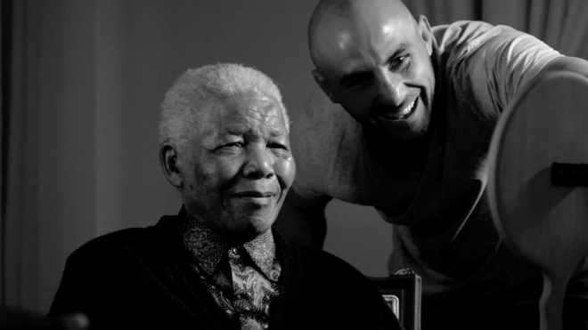 Portrait of Nelson Mandela - 21 ICONS South Africa