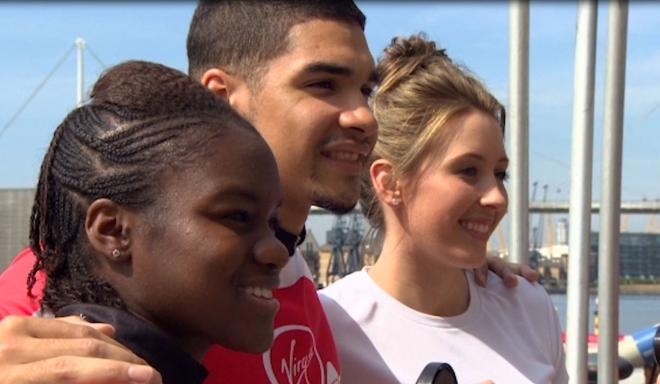 2012 Olympic Stars Take Part in London Triathlon