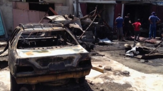 Wave Of Car Bombings In Iraq Kill 60
