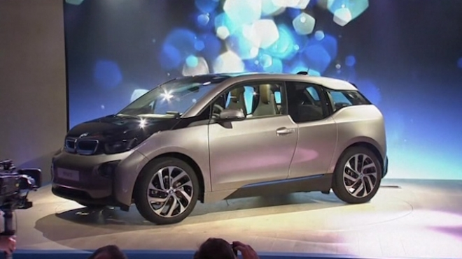 BMW Unveils The i3 Electric Car