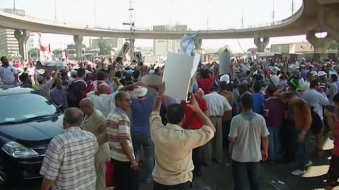 Tens Of Thousands March To Support Morsi