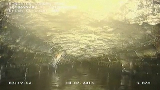 Giant Fatberg Discovered In London Sewer