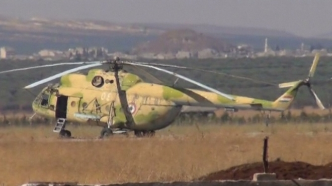 Syrian Rebels Capture Military Airport Near Turkey