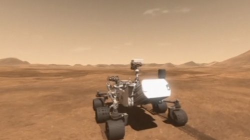 NASAs Curiosity Rover Celebrates A Year On Mars