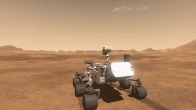 NASAs Curiosity Rover Celebrates A Year On Mars