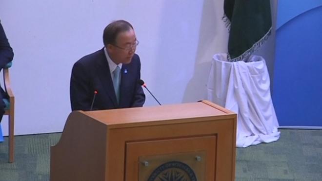 Ban Ki-Moon: Drone Attacks Should Be Regulated
