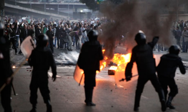 Egyptian Police Kill At Least 30 In Protest Crackdown