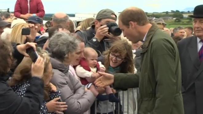 Prince William Describes Life As A Father