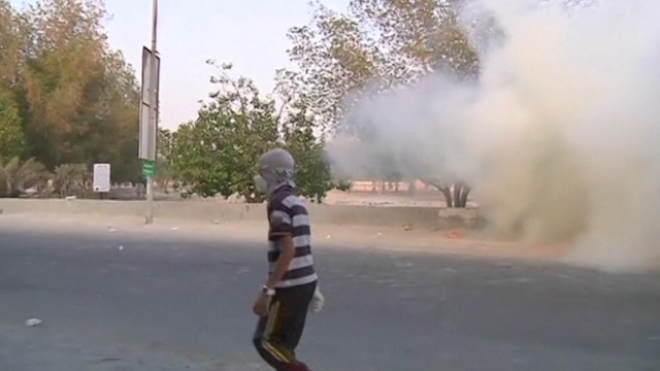 Police Fire Tear Gas, Birdshot At Bahrain Protestors