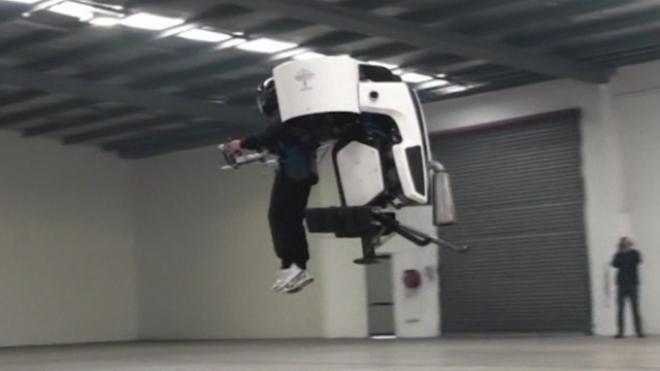 Jetpack Developed In New Zealand Gets Test Flights