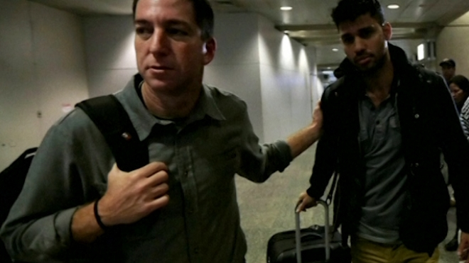 Britain Detains Partner Of Glenn Greenwald