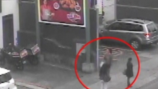 CCTV Shows British Women In Lima Prior To Detention