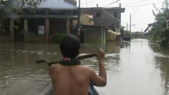 Monsoon Rains Leave At Least Eight Dead In Philippines