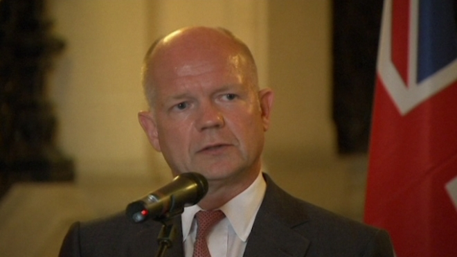 Hague: Let Inspectors Into Syria To Examine Attack