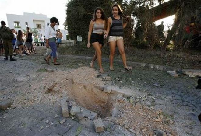 Israel Bombs Lebanon In Retaliation For Rocket Attack