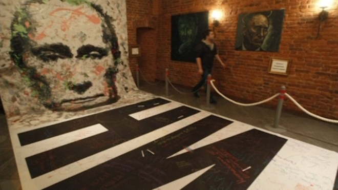 Russian Police Seize Painting Of Putin In Womens Underwear