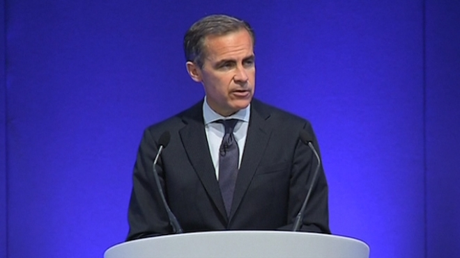 Carney Ready To Print Money To Guard Recovery