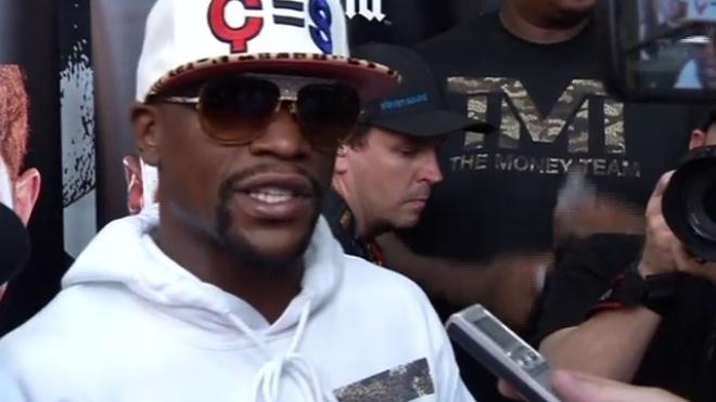 Floyd Mayweather Jr Preps For Alvarez Fight
