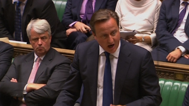 Cameron Loses Parliamentary Vote On Syria Action