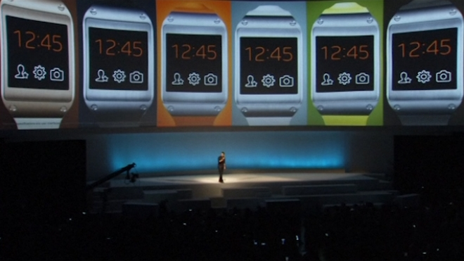 Samsungs Smartwatch Is Unveiled In Berlin