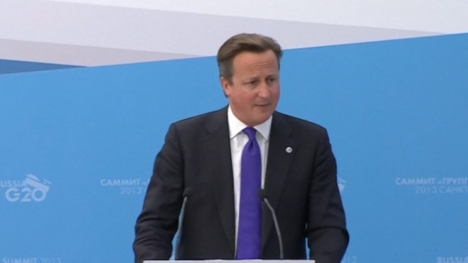 Cameron: G20 Was Never Going To Get Syria Agreement