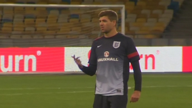England Prepare For Crucial World Cup Qualifier