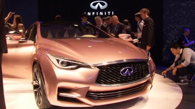 F1 Champ Vettel Presents New Luxury Inifiniti Car