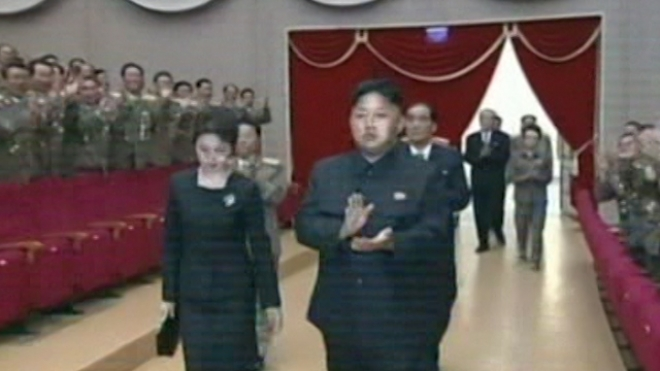 Kim Jong-Un Celebrates North Koreas 65th Anniversary