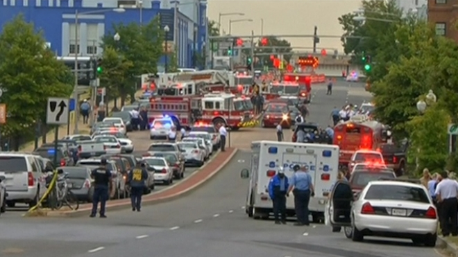 Shots Fired At Washington Navy Yard, Several Hurt