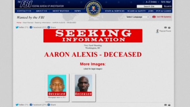 Aaron Alexis Named As Navy Yard Gunman