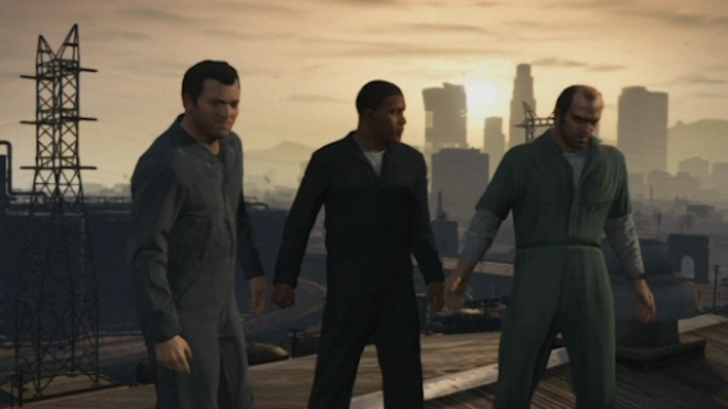 Much Anticipated Grand Theft Auto V Launches