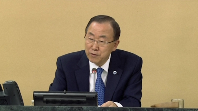 UN Chief: Bring Chemical Weapons Users To Justice