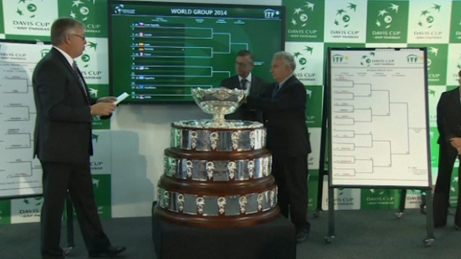 2014 Davis Cup Seeds Are Drawn