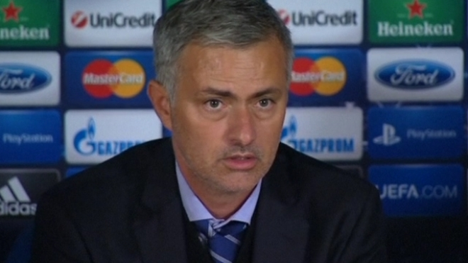 Mourinho Reacts To Shock 2-1 Defeat To Basel