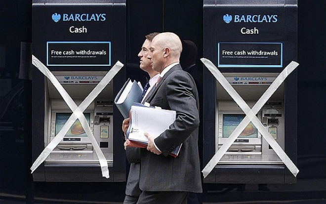 Eight Men Held Over Barclays Bank £1.3m Robbery