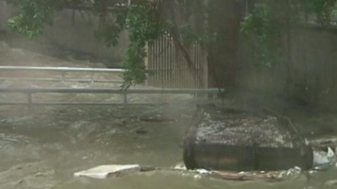 Typhoon Usagi Hits Southern China and Hong Kong