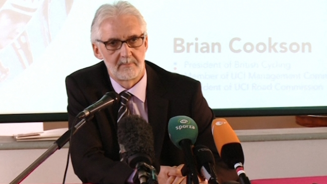 A Crossroads For Cycling, Says Cookson