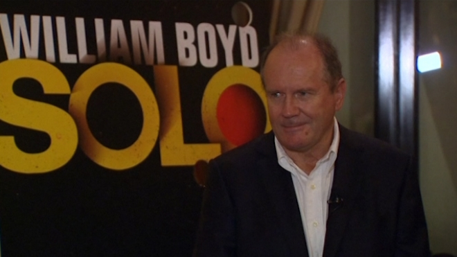 New james bond book author william boyd launches solo