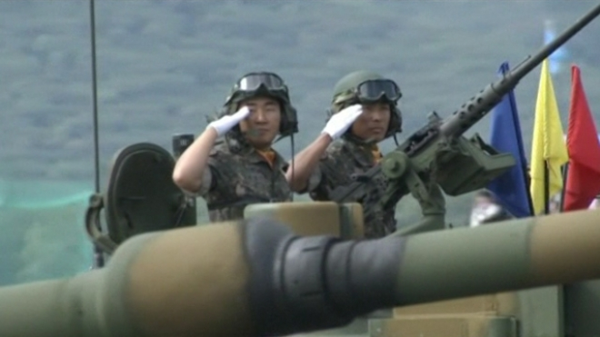 South Korean President Calls For Strong Defence