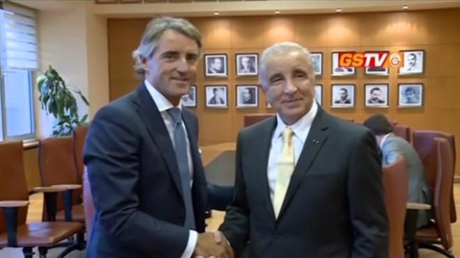 Mancini Signs With Galatasaray