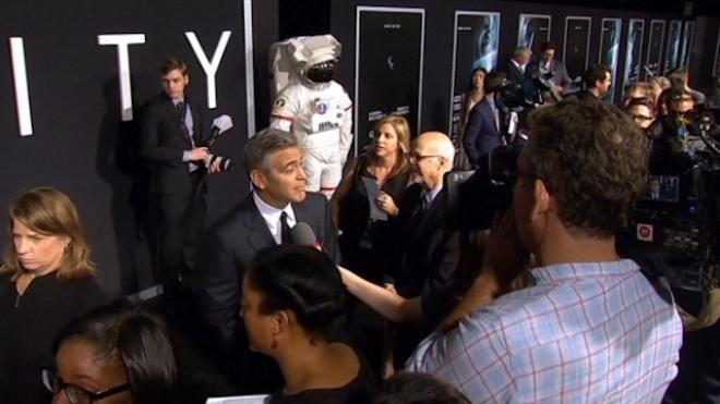 Cast Attend Gravity New York Premiere