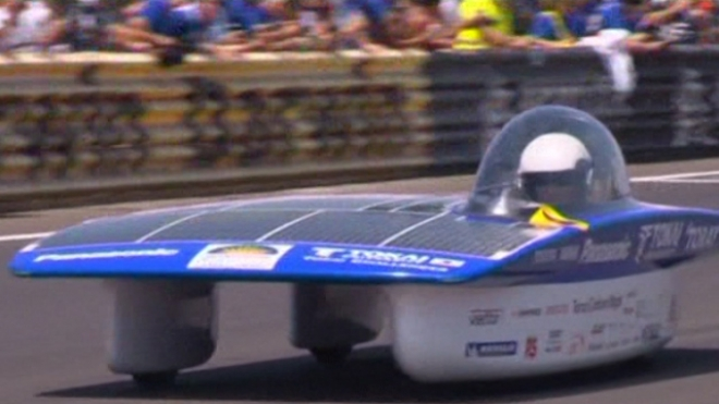 Worlds Most Advanced Solar Cars To Compete In Aus