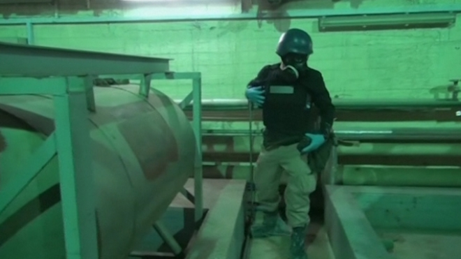 Chemical Weapons Experts Inspect Facility In Syria