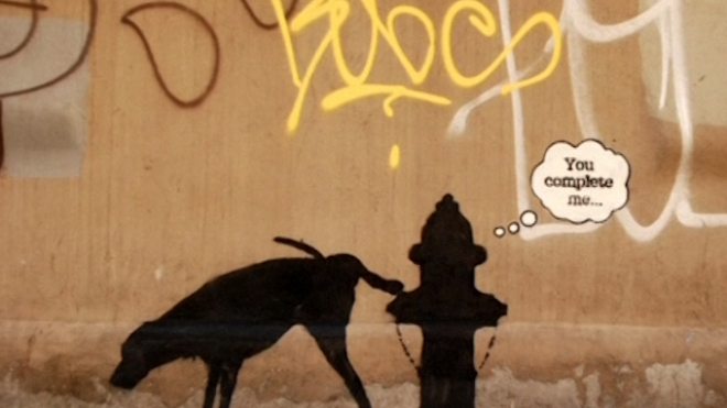 Banksy Goes Rogue In NYC