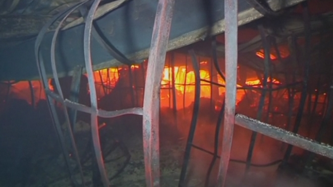 Fire Kills Ten At Bangladesh Garment Factory