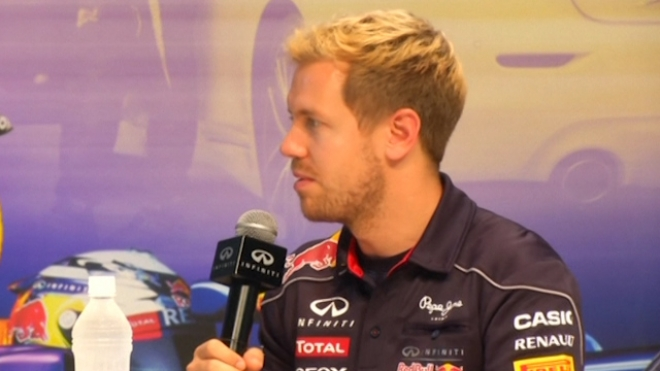 Vettel Looks Forward To Weekend Race At Suzuka