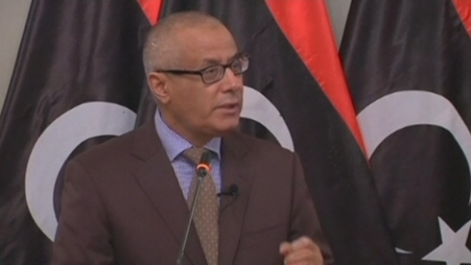 Libyan PM Zeidan Taken From Hotel By Gunmen