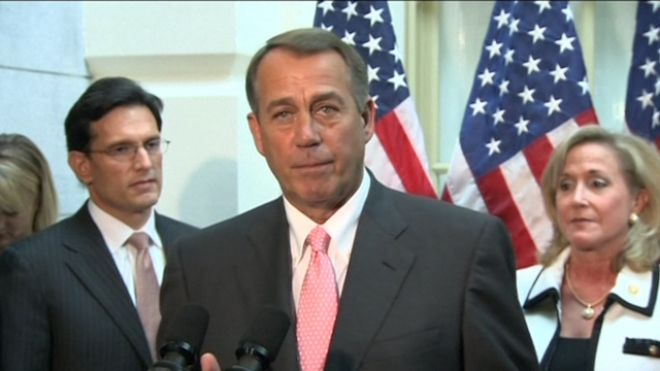 U.S. House Republicans Offer To Lift Debt Ceiling