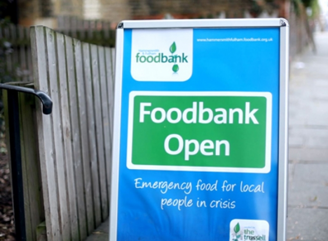 Hammersmith and Fulham Food Bank: Huge Increase in Use as People Face Benefit and Mental Health Problems